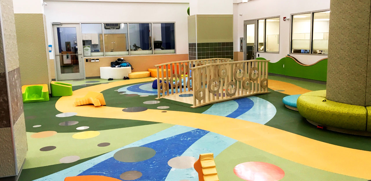 rehabilitation play area for children